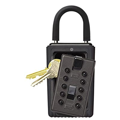 Kidde AccessPoint 00 KeySafe 3-Key Portable Push-Button Key Box