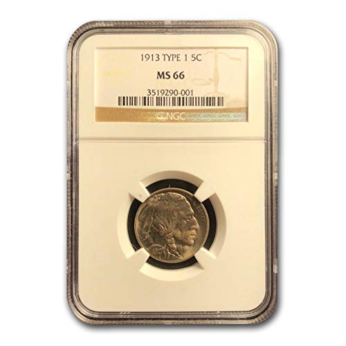 1913 Buffalo Nickel Type-I MS-66 NGC Nickel MS-66 NGC