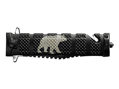 "Cheap Tac-Force 4"" Spring Assisted Pocket Knife TF710BK NDZ Bear Silhouette 6"