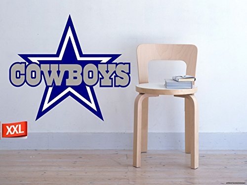 Full Color Dallas Cowboys decal, Full Color Dallas Cowboys sticker, Full Color Dallas Cowboys wall decal,Dallas Cowboys logo decal, NFL logo decal, Dallas Cowboys pf31 (52