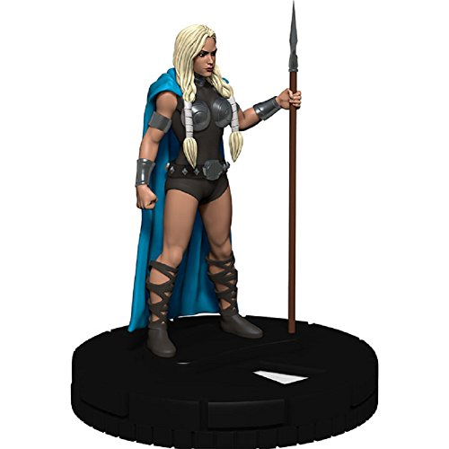 Marvel Heroclix The Mighty Thor #025 Valkyrie complete with Card (Thor Lady Sif And The Warriors Three)