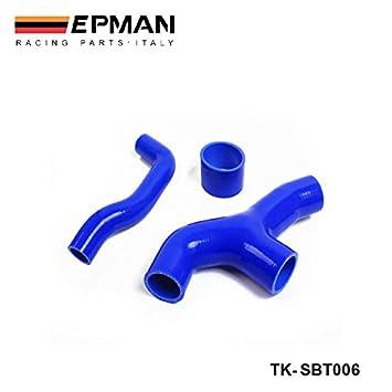epman-racing silicona Turbo Intercooler Y- Tubo Manguera Kit 3 pcs para Subaru WRX/cdo GGA 2.0 00 - 07 (3pcs) tk-sbt006: Amazon.es: Coche y moto