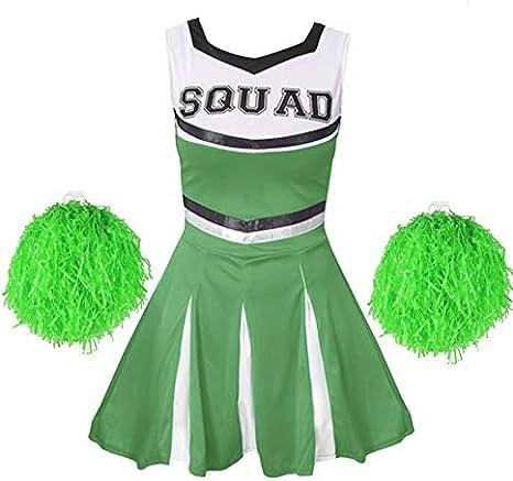 I LOVE FANCY DRESS LTD Disfraz DE Animadora Musical Verde para ...