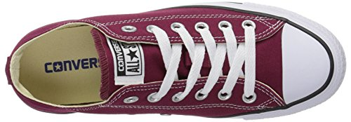 Rot Taylor Unisex Converse Chuck Ox Seasonal Sneakers Bordeaux Star Erwachsene All 1xRwqFO