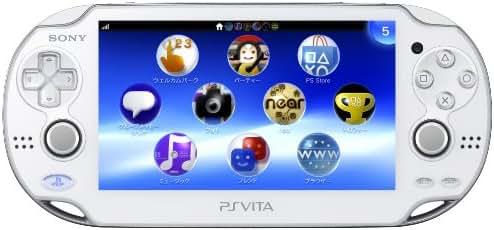 (Limited Edition) Playstation Vita (Playstation Vita) 3g/wi-fi Model Crystal White (Pch-1100 Ab02)
