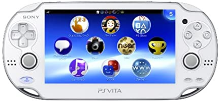 (Limited Edition) Playstation Vita (Playstation Vita) 3g/wi-fi Model Crystal White (Pch-1100 Ab02)