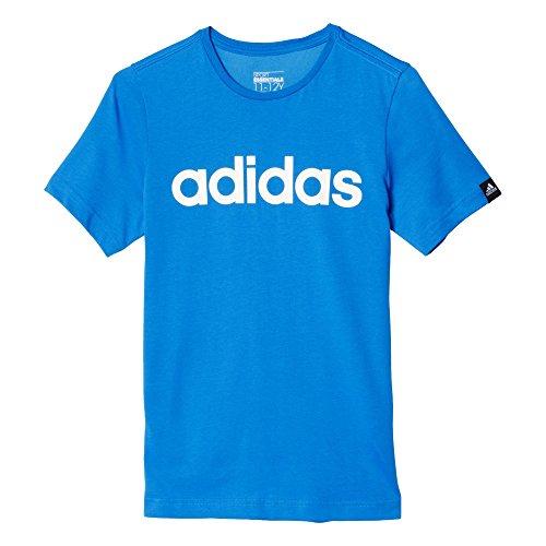 adidas Oberbekleidung Essentials Logo Tee, blau, 164, AK2503