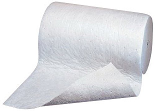 3M M-RL38150DDM 38'' X 150' Light Gray Polypropylene And Polyester High Capacity Maintenance Sorbent Roll (1/EA) by 3M