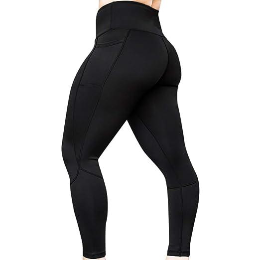 1e678d309b083 AOJIAN Yoga Pants Pockets Buttery Soft Tummy Control Jogger Capri Workout  Running Sports Leggings for Women