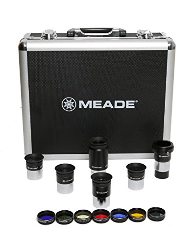 Meade Instruments 607001 Series 4000 1.25-Inch Eyepiece and Filter Set (Black) by Meade