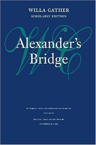 book cover of Alexander\'s Bridge