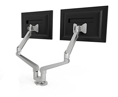 HON H5220 Accessories Dual Monitor Arm, Silver