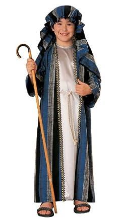 Amazon.com: Disfraz de pastor infantil (Tamaño pequeño ...
