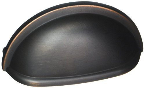 Amerock BP53010-10PACK Allison Value Hardware 3 Inch Center to Center Cup Cabinet, Oil Rubbed Bronze by Amerock