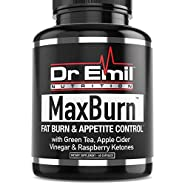 Dr. Emil - Thermogenic Fat Burner for Men & Women - Weight Loss Supplement, Metabolism Booster & Appetite Suppressant (60 Veggie Capsules)