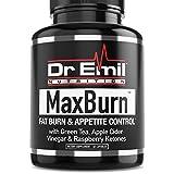 Best Energy Pills For Men - Dr. Emil MaxBurn Thermogenic Fat Burner for Men Review