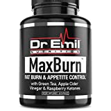 Dr. Emil - Thermogenic Fat Burner For Men & Women - Weight Loss Pills, Metabolism Booster & Appetite Suppressant (60 vegan diet pills)