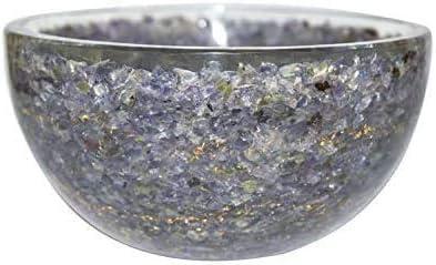 7 Chakra Reiki Bowl Orgone Hand Carved Crystal Spiritual Healing Energy Gemstone