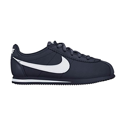 Nike Jungen Cortez Nylon (Ps) Laufschuhe Azul (Obsidian / White)