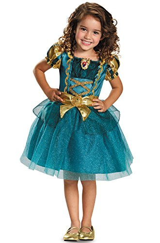 Merida Toddler Classic Costume, Medium -