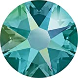 2000, 2058 & 2088 Swarovski Flatback Crystals Non Hotfix Blue Zircon Shimmer | SS16 (3.9mm) - Pack of 1440 (Wholesale) | Small & Wholesale Packs | Free Delivery
