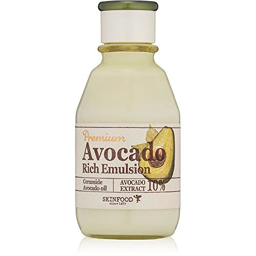 Skinfood Premium Avocado Rich Emulsion , SoltreeBundle Oil Blotting Paper 50pcs