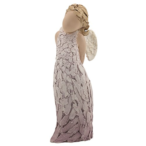 "More Than Words"" Collectible Angel Figurine- Angel of Heaven, 5.9"" Tall Resin Sculpture- Express ways to Heal, Comfort, Protect and Inspire your Loved Ones with this Beautiful Gift"