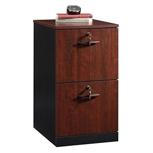 Bowery Hill 2 Drawer File Cabinet in Classic Cherry by BOWERY HILL