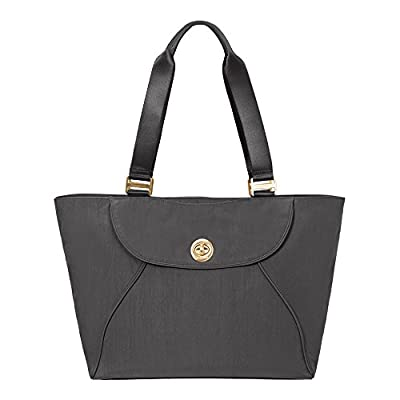 Baggallini Alberta Travel Tote with Gold-Tone Hardware