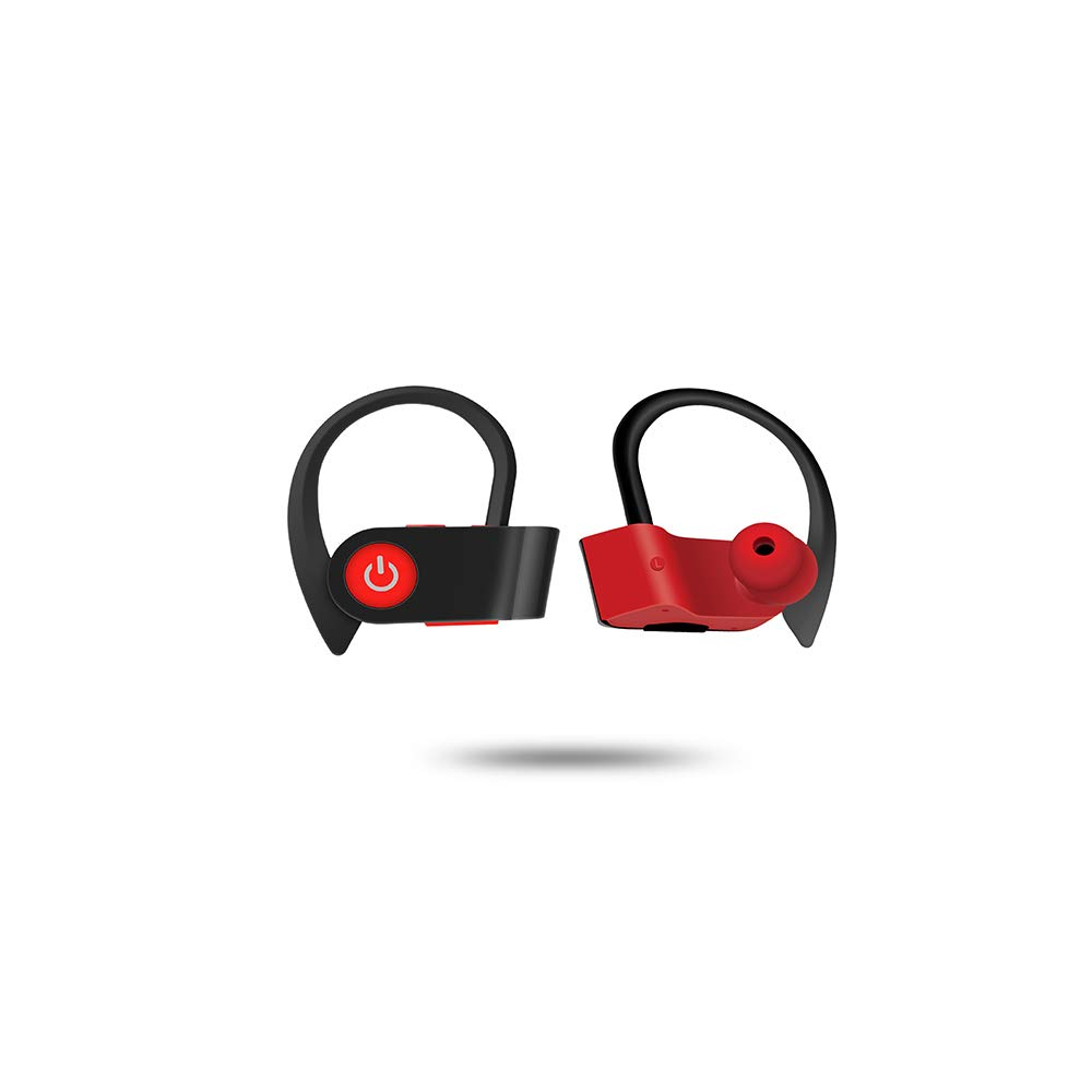 TWS Sport Wireless Headset, Bluetooth 5.0 Stereo Headphone with Mic, HD Sound with Bass Earbuds, Noise Cancelling.