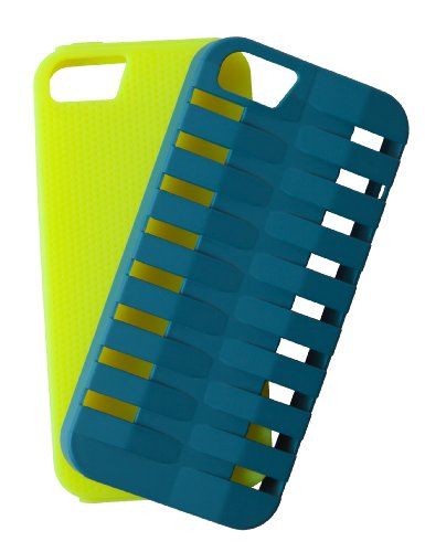 Case Logic CL5605G/B Etui en polycarbonate pour iPhone 5 Vert/Bleu