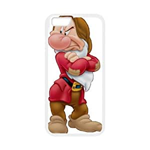iPhone6s Plus 5.5 inch Phone Case White Disney Snow White and the Seven Dwarfs Character Grumpy ESTY7855058