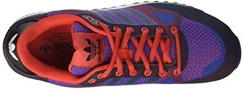 adidas ZX 750 WV Zapatillas de deporte, Hombre Rojo / Azul Marino / Azul (Rojexu / Maosno / Azufue)