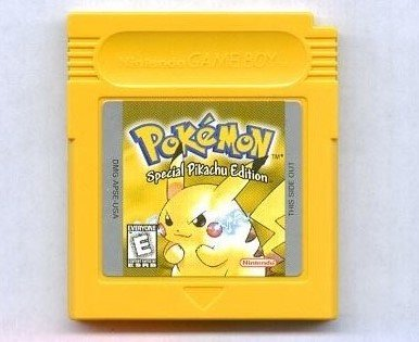 Pokemon Yellow Version Special Pikachu Edition Game [Game Boy] NEW SAVE BATTERY (Best Gameboy And Gameboy Color Games)