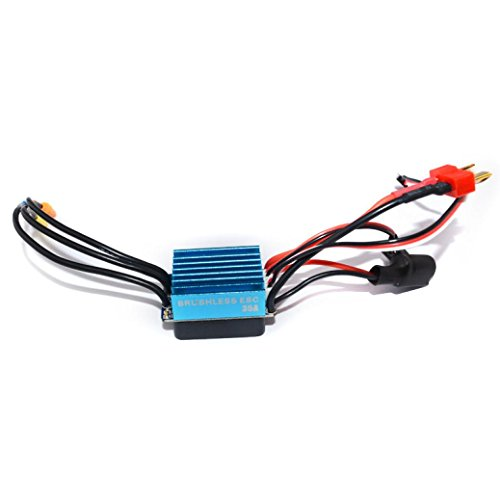 Esc Controllers (Tiean Sensorless 35A Brushless ESC Electric Speed Controller for RC Car Racing Set FT)