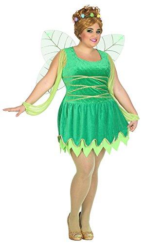 Atosa-39551 Disfraz Hada, Color Verde, XL (39551)