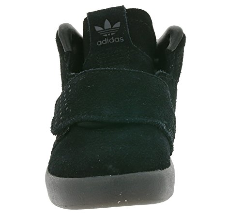 noir en adidas cuir Strap BB0401 Originals enfants I Invader sneaker Les Tubular Schwarz 8vq6FfvxwT