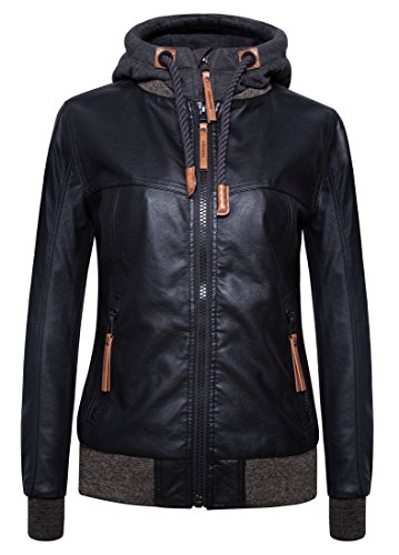 Ladies Leather Bike Jacket - 5