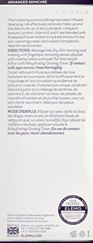 ELEMIS Rehydrating Rosepetal Cleanser - Nourishing Cleansing Milk