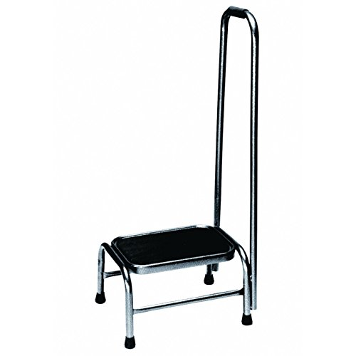 Physical Therapy Aids 081535574 Armedica Footstool with Handrail, Shape, () by Physical Therapy Aids