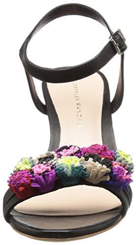 Loeffler Randall Femmes Layla Robe Pompe Noire / Multi