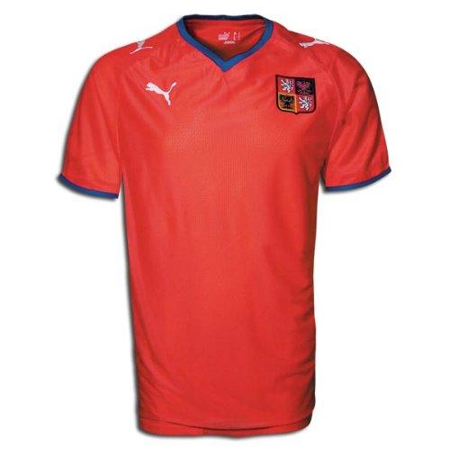 Czech Republic 08/09 Home Soccer Jersey