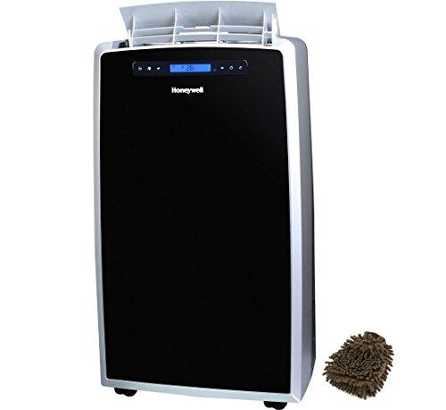 Honeywell MM14CHCS 14,000 BTU Portable Air Conditioner with Heat Pump - Black, Silver (Complete Set) w/ Bonus: Premium Microfiber Cleaner Bundle