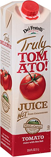 Dei Fratelli - Truly Tomato! Juice - 33.8 Fl. Oz - 6 pack (Dei Fratelli Tomato Juice compare prices)