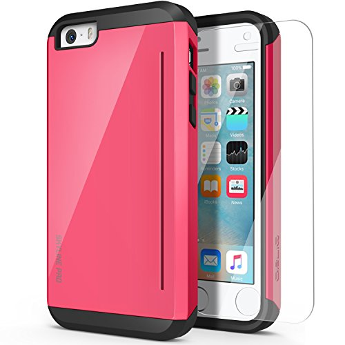 UPC 884828163488, iPhone 5C Case, OBLIQ [Skyline Pro][Pink] w/ HD Screen Protector - with Kickstand Slim Fit Bumper Dual Layered Heavy Duty Hard Protection Case for Apple iPhone 5C