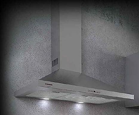 Campana decorativa 90cm Nodor 8559 SCALA 900 INOX: Amazon.es: Grandes electrodomésticos