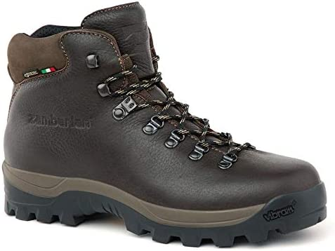 Zamberlan – 5030 sequoia gtx – leather hiking boots – brown –