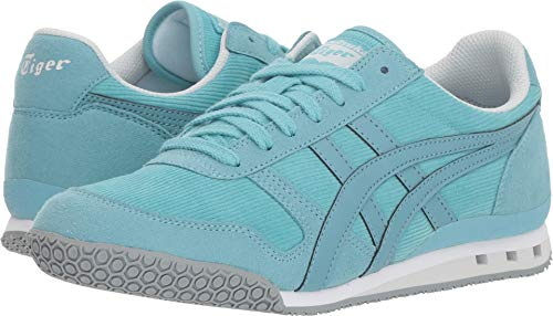 (Onitsuka Tiger by Asics Women's Ultimate 81¿ Blue Bell/Gris Blue 9 B US)
