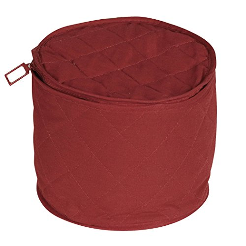 Quilted China Keepers 6pc. Starter Set -Crimson
