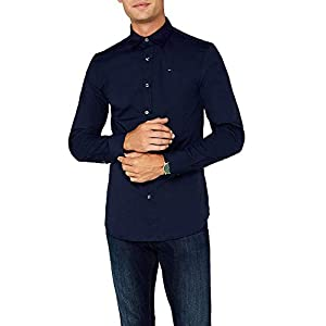 Tommy Jeans Men's Original Stretch Casual Shirt